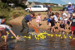 the Duck Race at Seatown