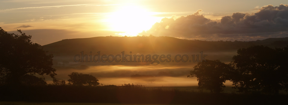 Sunrise over Marshwood
