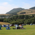 Camping at the Golden Cap Holiday Park