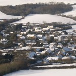 Snowy Chideock from Quarr