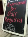 Bar Staff Wanted