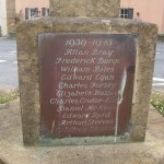Chideock war memorial WW2