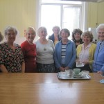 The Team from The Friends of St. Giles at The Hot Cross Bun & Coffee Morning, 2014