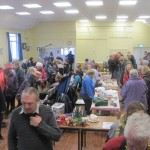 A very busy Christmas Fayre in November 2014