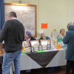 Christmas Fayre in November 2014 held in the village hall