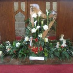 St.Giles Church Flower Festival Christmas 2014