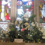 St.Giles Church 2014 Flower Festival themed on Christmas Carols