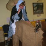 A Mummer as the Wife and the Horse