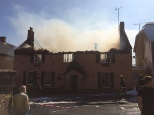 6th April, The Clock House is devastated by fire.