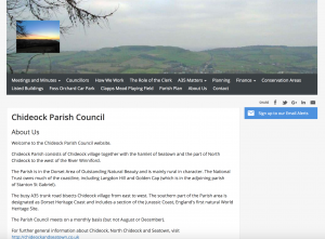 Chideock Parish Council Website