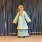 Costume - the Spirit of Bridport - made for Bridport museum education project