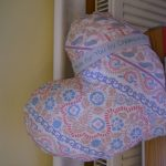 Mastectomy cushions for the Macmillan nurses to give to patients