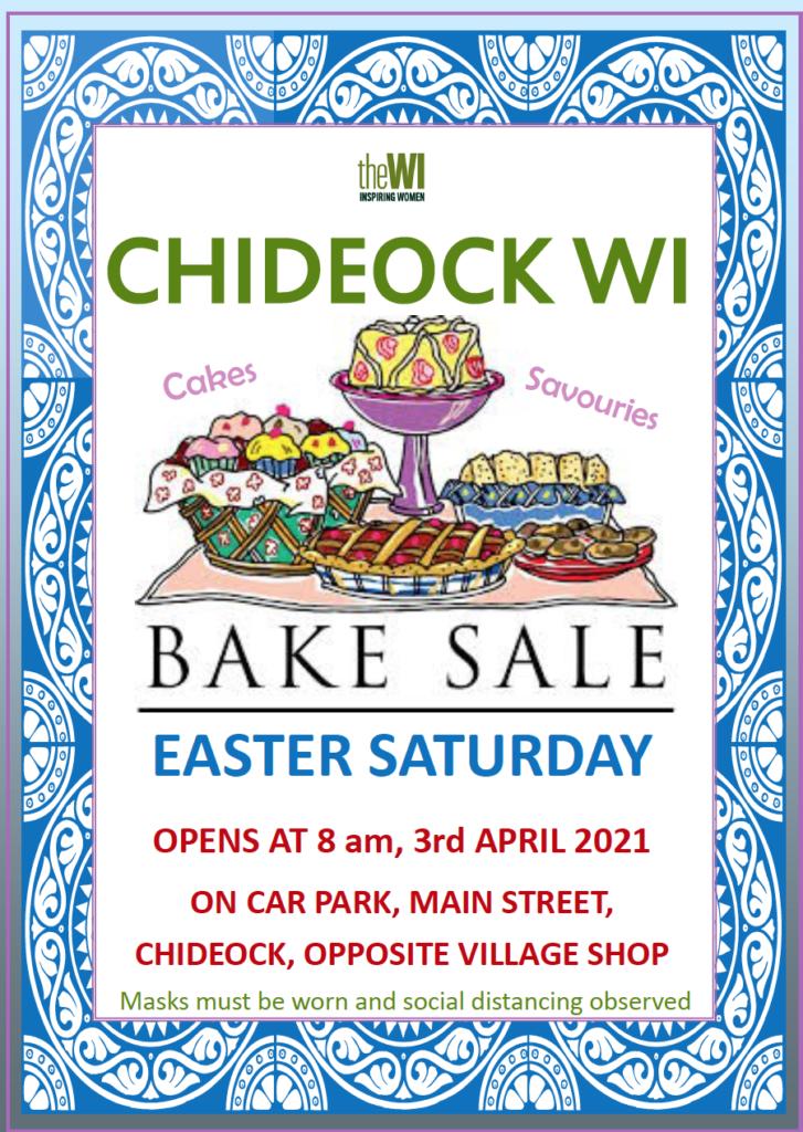 Chideock WI Bake Sale