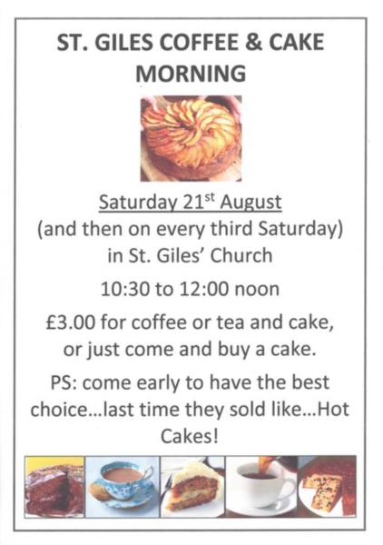 St Giles Coffee and Cake