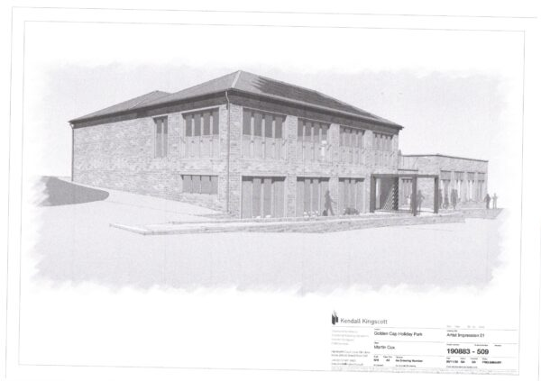 pROPOSED AMENDED leisure building